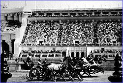 Ben Hur 1925 hanging miniature